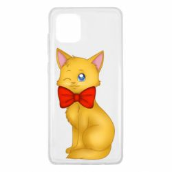 Чохол для Samsung Note 10 Lite Cat with a bow
