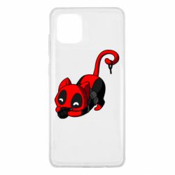 Чехол для Samsung Note 10 Lite Cat with a grenade