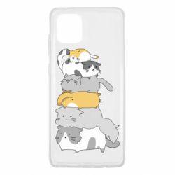 Чохол для Samsung Note 10 Lite Cats