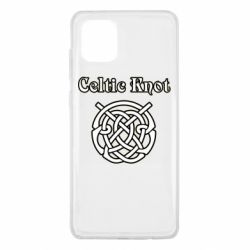 Чохол для Samsung Note 10 Lite Celtic knot black and white