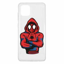 Чохол для Samsung Note 10 Lite Людина павук в толстовці