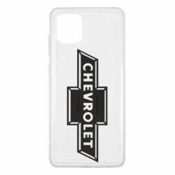 Чохол для Samsung Note 10 Lite Chevrolet Logo Small