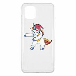 Чохол для Samsung Note 10 Lite Christmas Unicorn