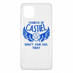 Чохол для Samsung Note 10 Lite Church of Castel