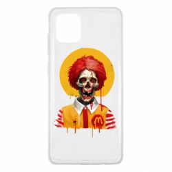 Чохол для Samsung Note 10 Lite Clown McDonald's skeleton