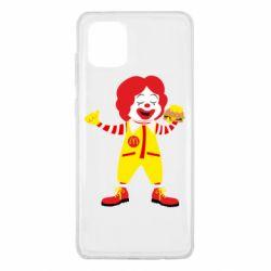 Чохол для Samsung Note 10 Lite Clown McDonald's
