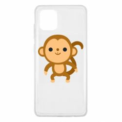 Чохол для Samsung Note 10 Lite Colored monkey