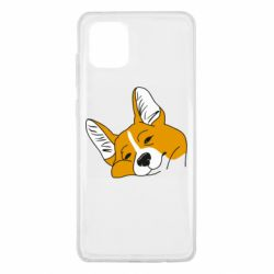 Чохол для Samsung Note 10 Lite Corgi is dozing