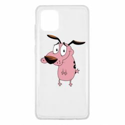 Чохол для Samsung Note 10 Lite Courage - a cowardly dog