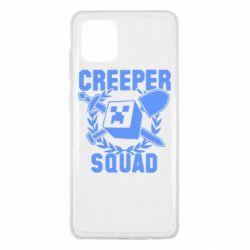 Чохол для Samsung Note 10 Lite Creeper Squad
