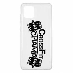 Чехол для Samsung Note 10 Lite CrossFit Champ
