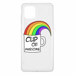 Чехол для Samsung Note 10 Lite Cup of awesome