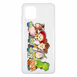 Чохол для Samsung Note 10 Lite Cute characters toy story