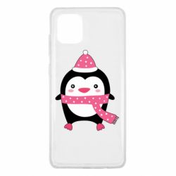 Чехол для Samsung Note 10 Lite Cute Christmas penguin