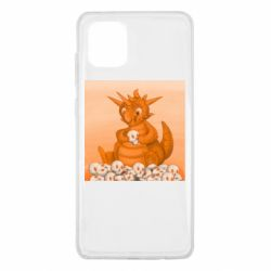 Чохол для Samsung Note 10 Lite Cute dragon with skulls