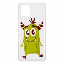 Чохол для Samsung Note 10 Lite Cute green monster