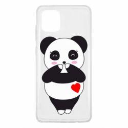 Чохол для Samsung Note 10 Lite Cute panda
