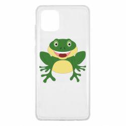 Чехол для Samsung Note 10 Lite Cute toad