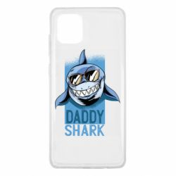 Чехол для Samsung Note 10 Lite Daddy shark