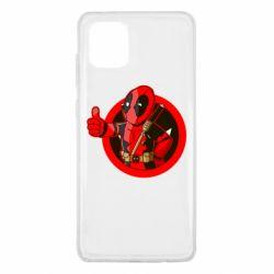 Чехол для Samsung Note 10 Lite Deadpool Fallout Boy