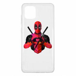 Чохол для Samsung Note 10 Lite Deadpool Love