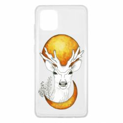 Чехол для Samsung Note 10 Lite Deer and moon