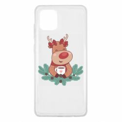 Чехол для Samsung Note 10 Lite Deer tea party girl