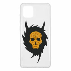 Чехол для Samsung Note 10 Lite Devil skull rock