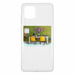 Чохол для Samsung Note 10 Lite Dining table with flowers
