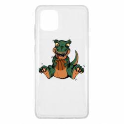 Чехол для Samsung Note 10 Lite Dinosaur and basketball