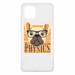 Чехол для Samsung Note 10 Lite Dog Physicist