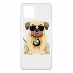Чохол для Samsung Note 10 Lite Dog with a collar BMW