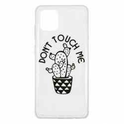 Чехол для Samsung Note 10 Lite Don't touch me cactus