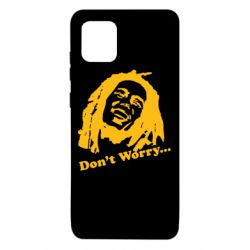 Чехол для Samsung Note 10 Lite Don't Worry (Bob Marley)