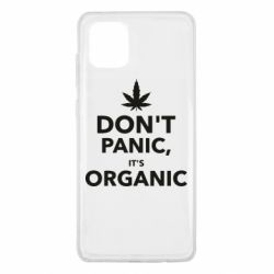 Чехол для Samsung Note 10 Lite Dont panic its organic