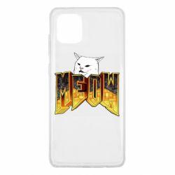 Чехол для Samsung Note 10 Lite Doom меов cat