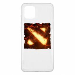 Чехол для Samsung Note 10 Lite Dota 2 Fire Logo