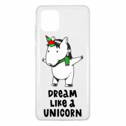 Чехол для Samsung Note 10 Lite Dream like a unicorn