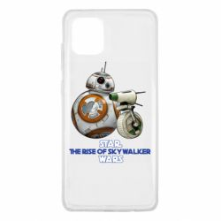 Чехол для Samsung Note 10 Lite Droids BB 8 and  D O  star wars the rise of skywalker