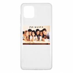 Чехол для Samsung Note 10 Lite Друзья в сборе