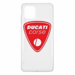 Чехол для Samsung Note 10 Lite Ducati Corse
