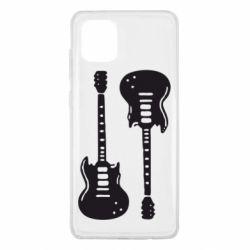Чохол для Samsung Note 10 Lite Дві гітари