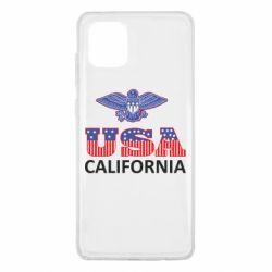 Чехол для Samsung Note 10 Lite Eagle USA