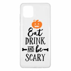 Чохол для Samsung Note 10 Lite Eat Drink and be Scary