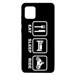 Чохол для Samsung Note 10 Lite Eat, sleep, ride
