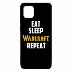 Чехол для Samsung Note 10 Lite Eat sleep Warcraft repeat