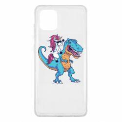 Чохол для Samsung Note 10 Lite Єдиноріг і динозавр