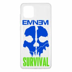 Чехол для Samsung Note 10 Lite Eminem Survival