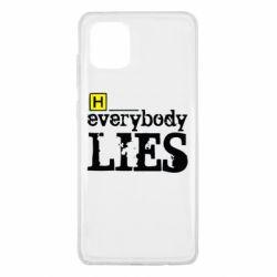 Чехол для Samsung Note 10 Lite Everybody LIES House