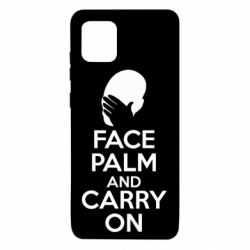 Чехол для Samsung Note 10 Lite Face palm and carry on